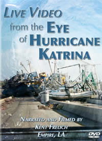 image: DVD cover  - Live Video from the Eye of Hurricane Katrina