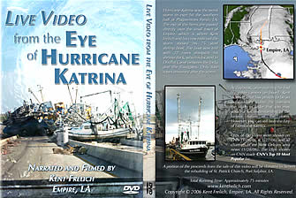 Live Video from the Eye of Hurricane Katrina